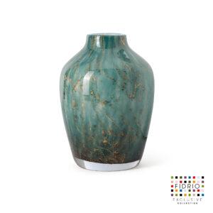 Fidrio Vase Sorobon Dark Ocean