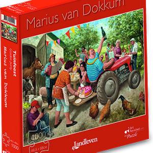 Puzzel Marius van Dokkum Tuinfeest